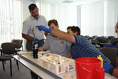 Solutions to Technician Chemistry Training: Just the Right Amount